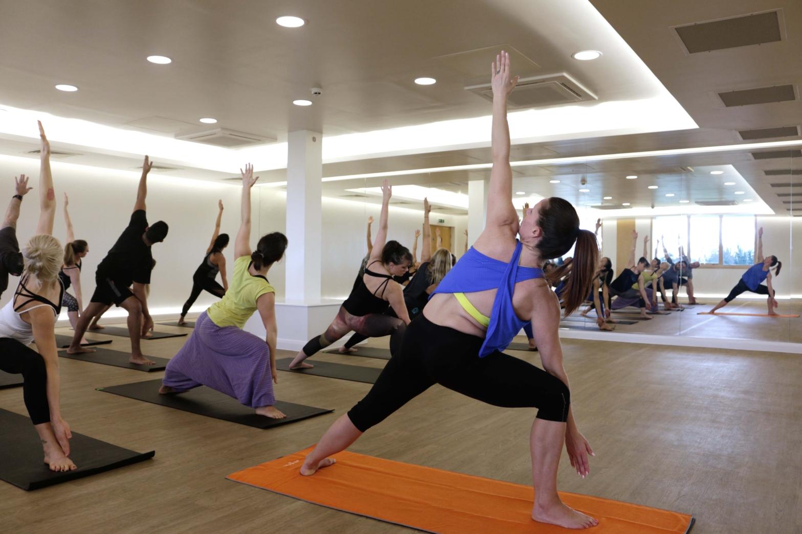 Hot Yoga Class