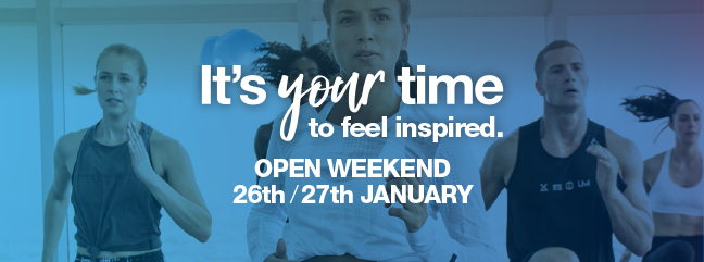 Free fitness open weekend